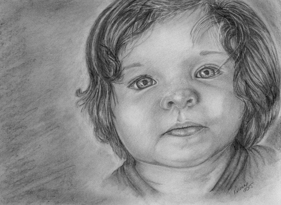 Leah Pencil Portrait1