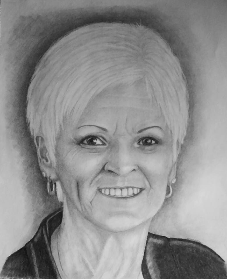 Mary Pencil Portrait