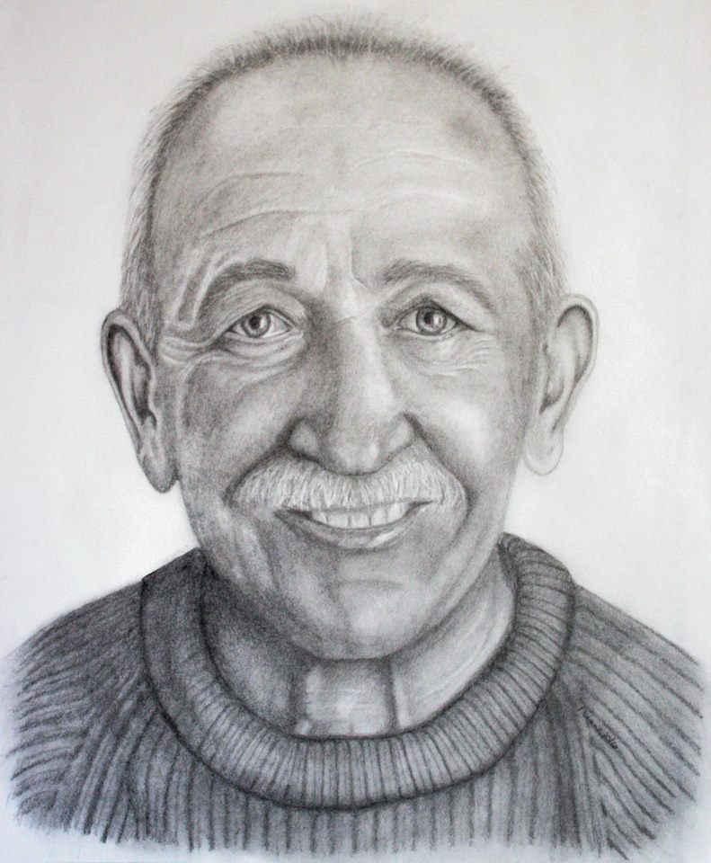 Father Pencil Portrait 2
